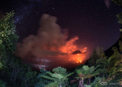 Volcan eruption réunion kina photo